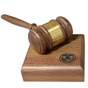 Gavel with Band