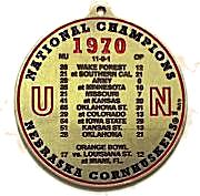 1970 National Champions Ornament