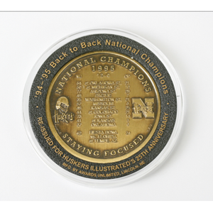 1994-1995 Back to Back National Champion Coin