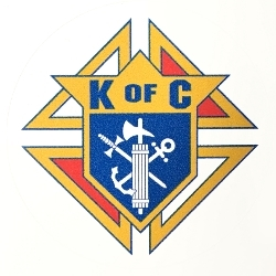 "3"" Knights of Columbus sticker"