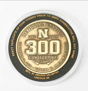 300th Consecutive Sell Out Coin