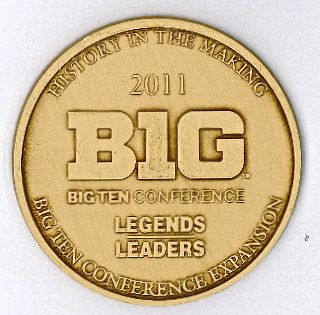 Big Ten Conference Expansion Coin
