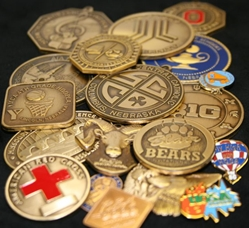 Custom Designed and Manufactured Coins, Medals & Pins
