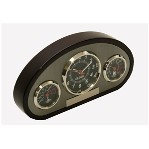 Dash Cluster Wood and Chrome Award where to buy dash cluster wood award, weather station award, engraved dash cluster award, functional award