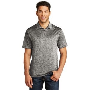 Electric Heather Polo