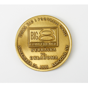 Final Big 8 Football Game  Coin