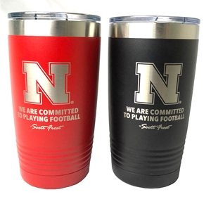 Husker - Committed to Playing Football Tumbler