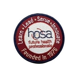 "Patch - HOSA 3"" round"