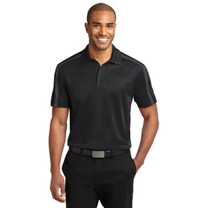 Performance Colorblock Stripe Polo