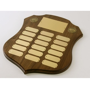 Plaque - Perpetual Shield Shape