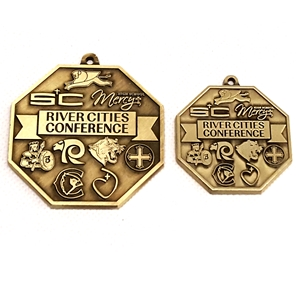 "River City Conf. 1.5"" Bronze Medal"