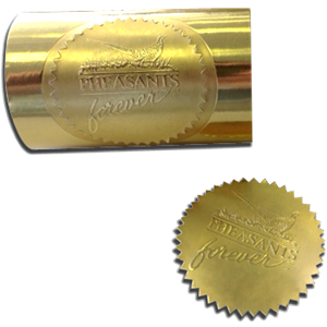 Gold Foil Seal - roll of 100
