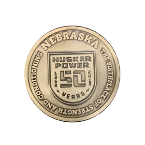 Husker Power 50th Anniversary Coin