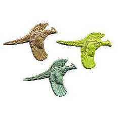 Lapel Pin - Flying Pheasant Cast